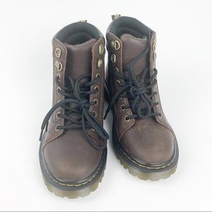 Dr. Martens - Sz 8 women, brown boots